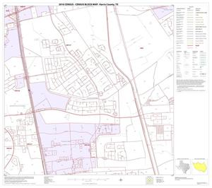 Primary view of object titled '2010 Census County Block Map: Harris County, Block 72'.