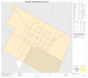 Primary view of object titled '2010 Census County Block Map: Hill County, Inset L01'.