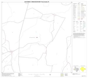 Primary view of object titled '2010 Census County Block Map: Pecos County, Block 50'.