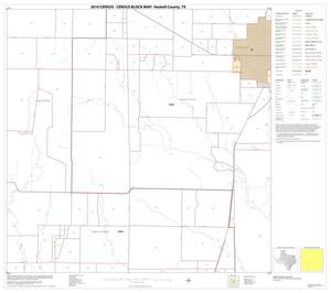 Primary view of object titled '2010 Census County Block Map: Haskell County, Block 10'.
