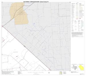 Primary view of object titled '2010 Census County Block Map: Jackson County, Block 8'.