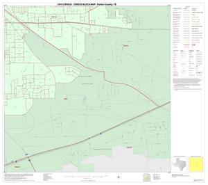 Primary view of object titled '2010 Census County Block Map: Parker County, Inset C04'.