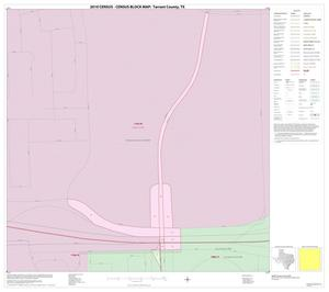 Primary view of object titled '2010 Census County Block Map: Tarrant County, Inset D01'.