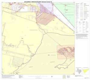 Primary view of object titled '2010 Census County Block Map: Galveston County, Block 41'.