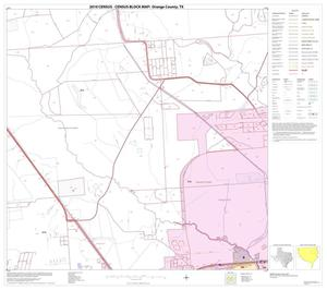 Primary view of object titled '2010 Census County Block Map: Orange County, Block 11'.