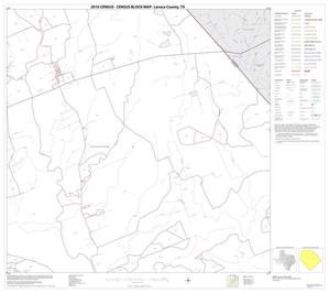 Primary view of object titled '2010 Census County Block Map: Lavaca County, Block 8'.