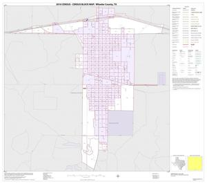 Primary view of object titled '2010 Census County Block Map: Wheeler County, Inset F01'.