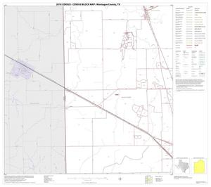 Primary view of object titled '2010 Census County Block Map: Montague County, Block 11'.
