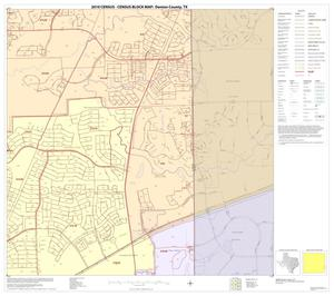 Primary view of object titled '2010 Census County Block Map: Denton County, Block 70'.