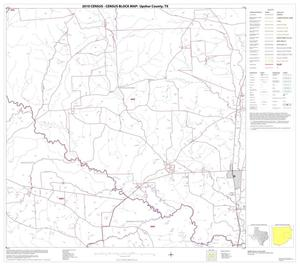 Primary view of object titled '2010 Census County Block Map: Upshur County, Block 7'.