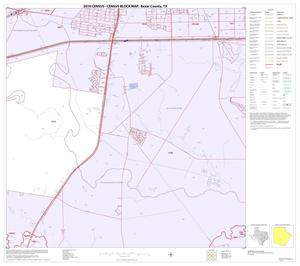 Primary view of object titled '2010 Census County Block Map: Bexar County, Block 51'.