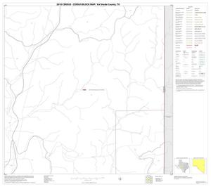 Primary view of object titled '2010 Census County Block Map: Val Verde County, Block 50'.