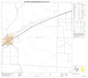 Primary view of object titled '2010 Census County Block Map: Reeves County, Block 23'.