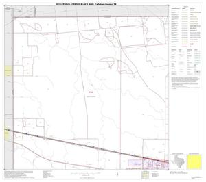 Primary view of object titled '2010 Census County Block Map: Callahan County, Block 1'.