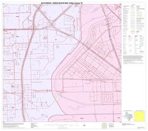 Primary view of object titled '2010 Census County Block Map: Dallas County, Block 30'.