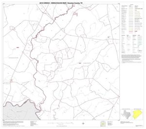 Primary view of object titled '2010 Census County Block Map: Houston County, Block 18'.
