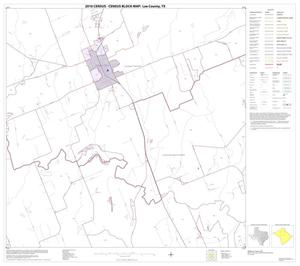 Primary view of object titled '2010 Census County Block Map: Lee County, Block 6'.
