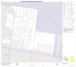 Primary view of object titled '2010 Census County Block Map: Hidalgo County, Inset Q01'.