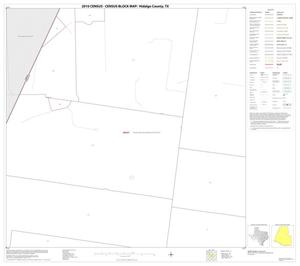 Primary view of object titled '2010 Census County Block Map: Hidalgo County, Block 22'.