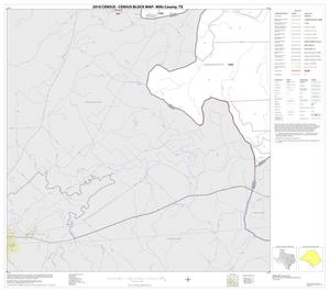 Primary view of object titled '2010 Census County Block Map: Mills County, Block 14'.