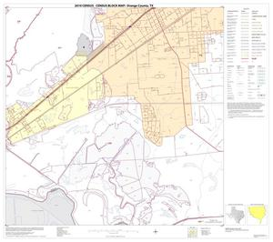 Primary view of object titled '2010 Census County Block Map: Orange County, Block 14'.