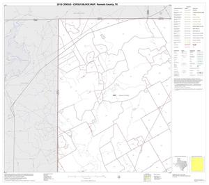 Primary view of object titled '2010 Census County Block Map: Runnels County, Block 1'.
