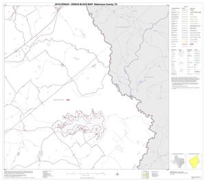Primary view of object titled '2010 Census County Block Map: Robertson County, Block 11'.