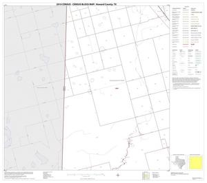 Primary view of object titled '2010 Census County Block Map: Howard County, Block 5'.