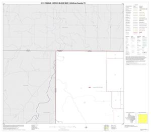 Primary view of object titled '2010 Census County Block Map: Ochiltree County, Block 1'.