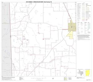 Primary view of object titled '2010 Census County Block Map: Hunt County, Block 5'.