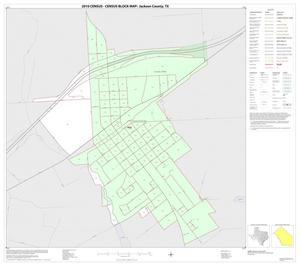 Primary view of object titled '2010 Census County Block Map: Jackson County, Inset C01'.
