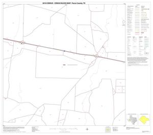 Primary view of object titled '2010 Census County Block Map: Pecos County, Block 24'.