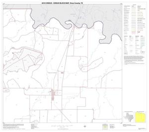 Primary view of object titled '2010 Census County Block Map: Knox County, Block 2'.