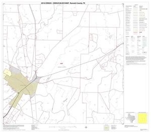 Primary view of object titled '2010 Census County Block Map: Runnels County, Block 11'.