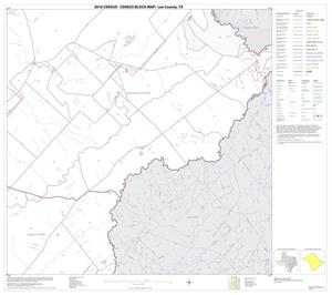 Primary view of object titled '2010 Census County Block Map: Lee County, Block 12'.