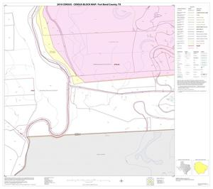 Primary view of object titled '2010 Census County Block Map: Fort Bend County, Block 52'.