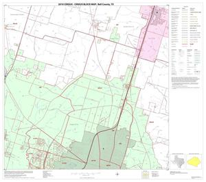 Primary view of object titled '2010 Census County Block Map: Bell County, Block 9'.