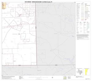 Primary view of object titled '2010 Census County Block Map: Jim Wells County, Block 19'.