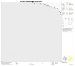 Primary view of object titled '2010 Census County Block Map: Brewster County, Block 95'.