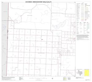 Primary view of object titled '2010 Census County Block Map: Bailey County, Block 3'.