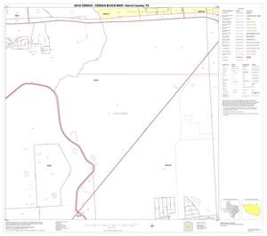Primary view of object titled '2010 Census County Block Map: Harris County, Block 117'.