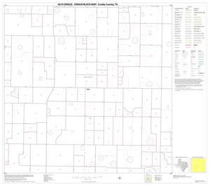 Primary view of object titled '2010 Census County Block Map: Crosby County, Block 10'.