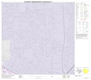 Primary view of object titled '2010 Census County Block Map: Fort Bend County, Block 13'.