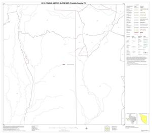 Primary view of object titled '2010 Census County Block Map: Presidio County, Block 19'.
