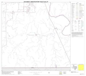 Primary view of object titled '2010 Census County Block Map: Baylor County, Block 14'.