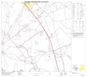 Primary view of object titled '2010 Census County Block Map: Leon County, Block 9'.