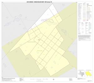 Primary view of object titled '2010 Census County Block Map: Hill County, Inset P01'.