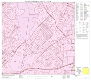 Primary view of object titled '2010 Census County Block Map: Dallas County, Block 33'.