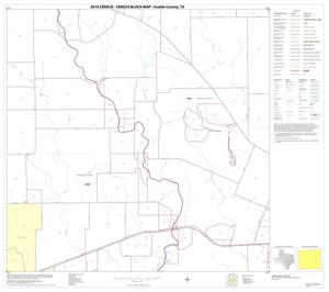 Primary view of object titled '2010 Census County Block Map: Uvalde County, Block 17'.