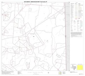 Primary view of object titled '2010 Census County Block Map: Frio County, Block 12'.